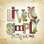 BBOw028 Live Simply Owl