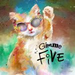 GK007 Gimme Five Cat