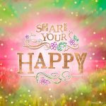 SW041 Share your Happy