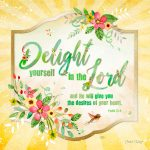 WC015 Delight Yourself