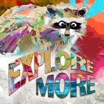 FF031-Explore More Raccoon