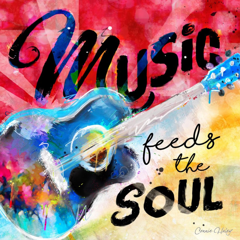 Guitar-Music feeds the Soul